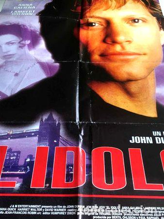 POSTER JHON BON JOVI EN EL IDOLO ORIGINAL (Cine - Reproducciones de carteles, folletos...)