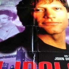 Cinema: POSTER JHON BON JOVI EN EL IDOLO ORIGINAL. Lote 255081845