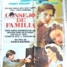 Cinéma: POSTER AFICHE CINE CONSEJO DE FAMILIA COSTA GAVRAS. Lote 255137975