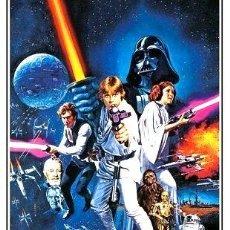 Cine: A NEW HOPE POSTER DE STAR WARS 90 X 60 CM. Lote 255260545