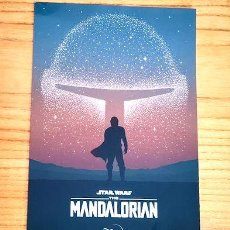 Cine: POSTER A4 STAR WARS THE MANDALORIAN 1. Lote 255278195