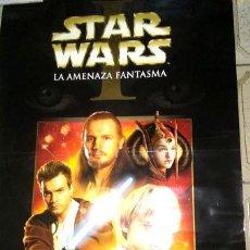 Cine: POSTER DE CINE ORIGINAL DE STAR WARS AMENAZA FANTASMAL. Lote 255286135