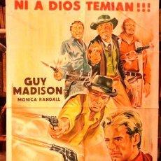 Cine: LOS 5 GIGANTES DE TEXAS AFICHE CINE ORIGINAL. Lote 255304415