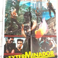 Cine: POSTER AFICHE CINE EL EXTERMINADOR DE NEW YORK. Lote 255304655