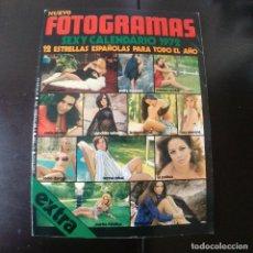 Cine: FOTOGRAMAS NUMERO 1207 - 3 DICIEMBRE 1971 / SEXI CALENDARIO 1972 -12 ESTRELLAS ESPAÑOLAS. Lote 255328420