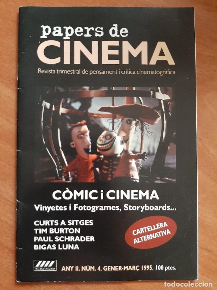 1995 PAPERS DE CINEMA - Nº 4 / EN CATALÁN (Cine - Revistas - Papeles de cine)