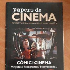 Cine: 1995 PAPERS DE CINEMA - Nº 4 / EN CATALÁN. Lote 255333155