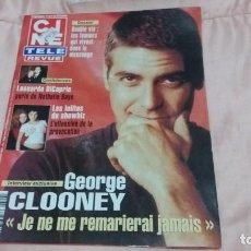 Cine: CINE-REVUE-6 FEBRERO 2003-Nº6(GEORGE CLOONEY,LEO DICAPRIO,GEORGE RAFT,KIRK DOUGLAS,ETC)VOIR PHOTO. Lote 255349190
