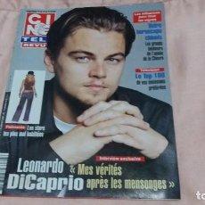 Cine: CINE-REVUE-16 ENERO 2003-Nº3(L.DICAPRIO,VINCENT PERROT,MASSIMO GIROTTI,AUDREY HEPBURN,ETC)VOIR PHOTO. Lote 255349830
