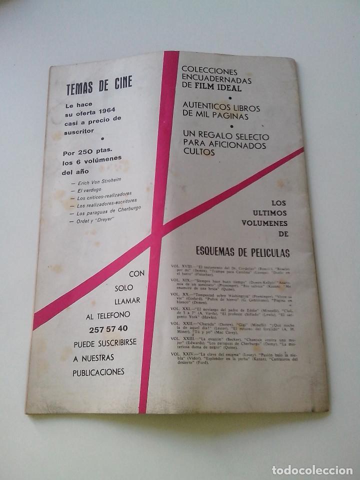 Cine: REVISTA DE CINE FILM IDEAL Nº 166 AÑO 1965 JOHN FORD - Foto 4 - 255364950