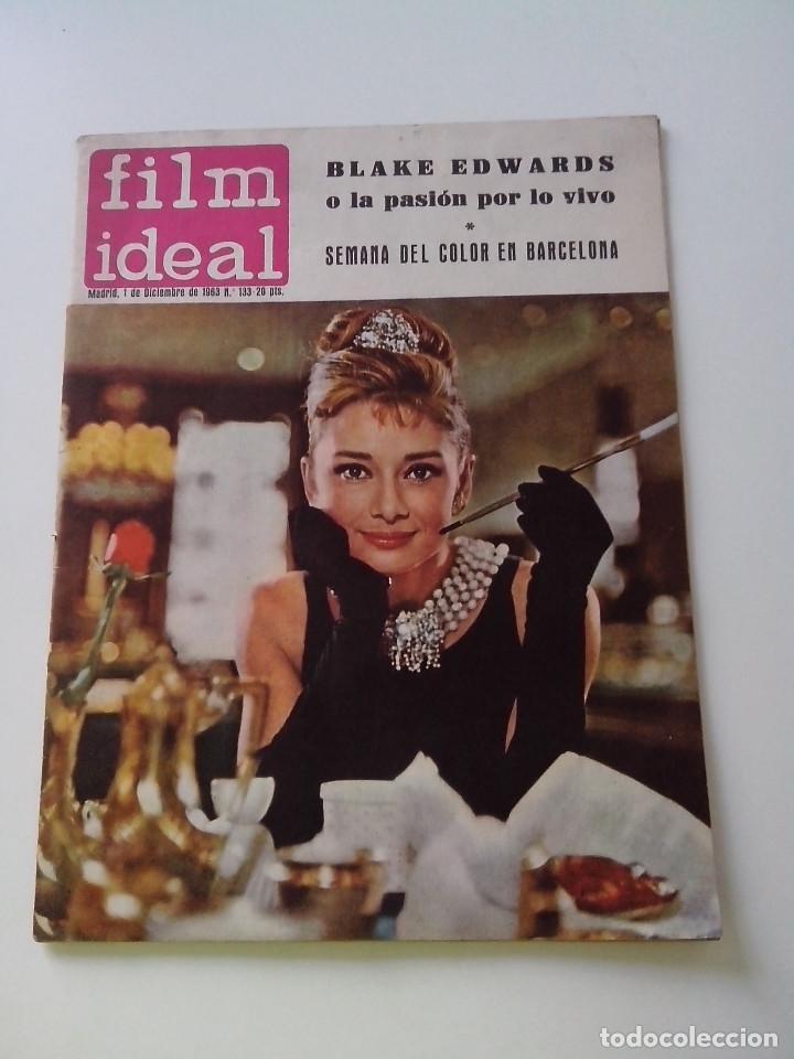 REVISTA DE CINE FILM IDEAL Nº 133 AÑO 1963 BLAKE EDWARDS (Cine - Revistas - Film Ideal)