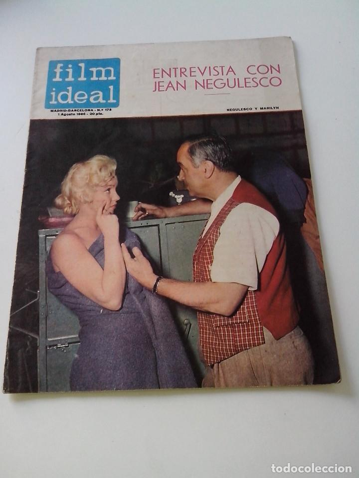 REVISTA DE CINE FILM IDEAL Nº 173 AÑO 1965 ENTREVISTA A JEAN NEGULESCO (Cine - Revistas - Film Ideal)