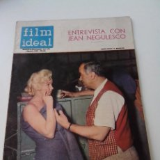 Cine: REVISTA DE CINE FILM IDEAL Nº 173 AÑO 1965 ENTREVISTA A JEAN NEGULESCO. Lote 255366010