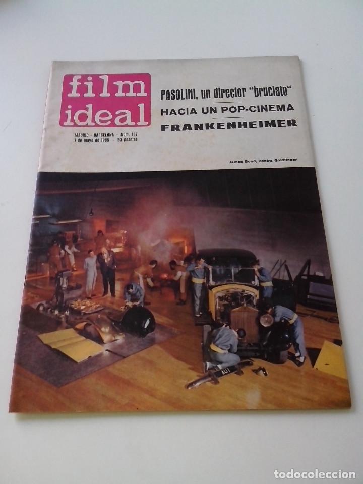 REVISTA DE CINE FILM IDEAL Nº 167 AÑO 1965 PASOLINI FRANKENHEIMER (Cine - Revistas - Film Ideal)