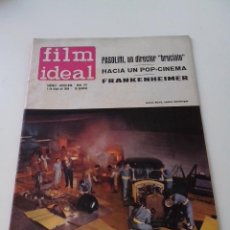 Cine: REVISTA DE CINE FILM IDEAL Nº 167 AÑO 1965 PASOLINI FRANKENHEIMER. Lote 255366565