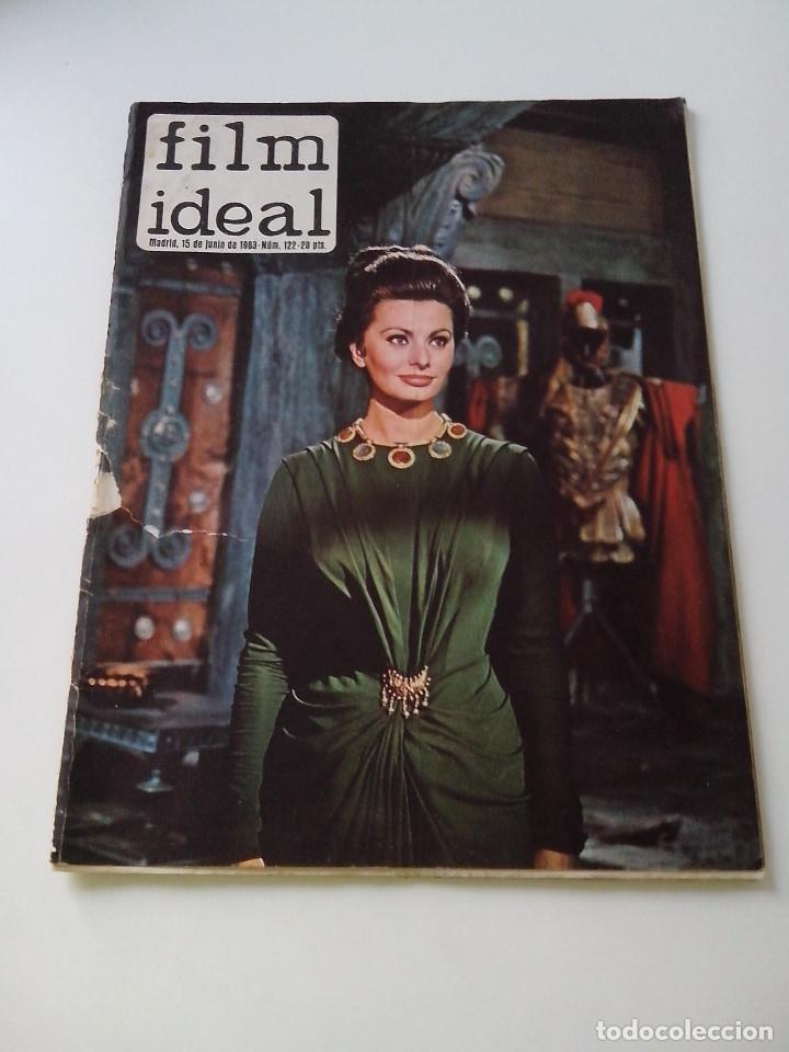 REVISTA DE CINE FILM IDEAL Nº 122 AÑO 1963 OJO CON LA PORTADA (Cine - Revistas - Film Ideal)