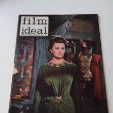 Cine: REVISTA DE CINE FILM IDEAL Nº 122 AÑO 1963 OJO CON LA PORTADA. Lote 255371430