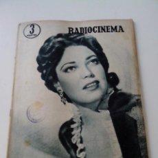 Cine: REVISTA DE CINE RADIOCINEMA Nº 350 AÑO 1957 PORTADA LINDA DARNELL. Lote 255372920