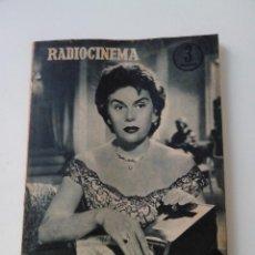 Cinema: REVISTA DE CINE RADIOCINEMA Nº 328 AÑO 1956 PORTADA ANA MARISCAL. Lote 255373255