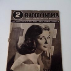 Cine: REVISTA DE CINE RADIOCINEMA Nº 190 AÑO 1954 PORTADA PIER ANGELI. Lote 255374005