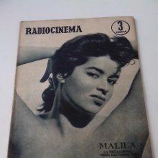Cine: REVISTA DE CINE RADIOCINEMA Nº 324 AÑO 1956 PORTADA MALILA. Lote 255374210