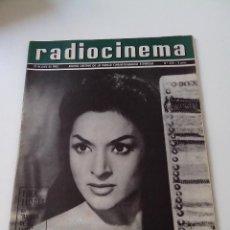 Cinema: REVISTA DE CINE RADIOCINEMA Nº 535 AÑO 1962 PORTADA LOLA FLORES. Lote 255375125