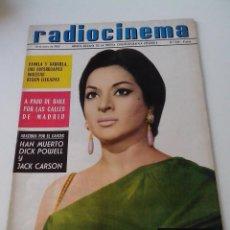 Cinema: REVISTA DE CINE RADIOCINEMA Nº 564 AÑO 1963 LOLA FLORES EN PORTADA. Lote 255376285