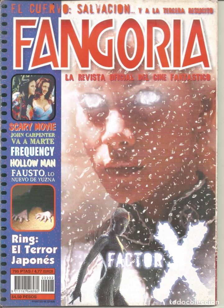REVISTA FANGORIA Nº2 (Cine - Revistas - Fangoria)