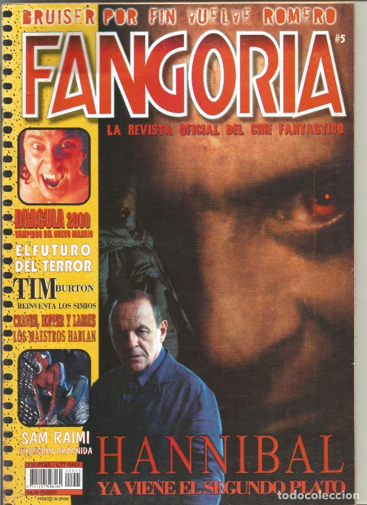 REVISTA FANGORIA Nº5 (Cine - Revistas - Fangoria)
