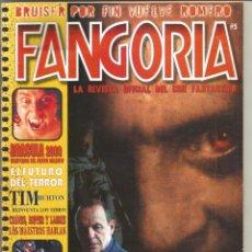Cine: REVISTA FANGORIA Nº5. Lote 255380580