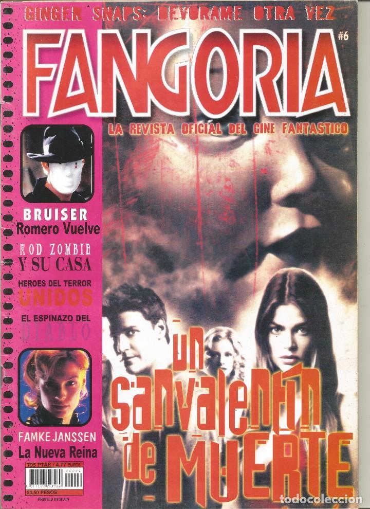 REVISTA FANGORIA Nº6 (Cine - Revistas - Fangoria)