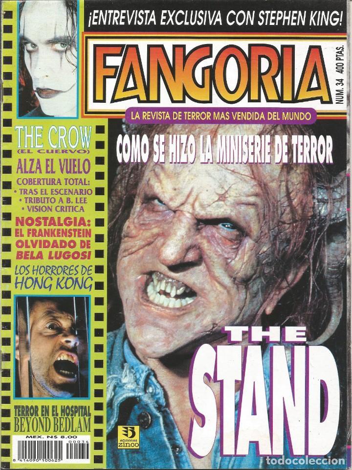 REVISTA FANGORIA Nº34 (Cine - Revistas - Fangoria)