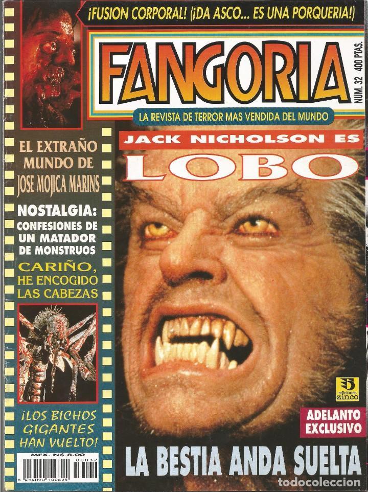 REVISTA FANGORIA Nº32 (Cine - Revistas - Fangoria)