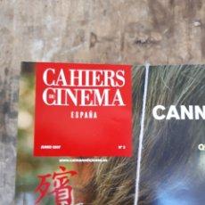 Cine: REVISTA DE CINE CAHIERS DU CINEMA ESPAÑA. AÑO 2007 A 2011.. Lote 255429530