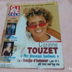 Cine: CINE-REVUE-18 ENERO 2001-Nº3(C.TOUZET,B.SPEARS,J.ANISTON,MILLIE PERKINS,SHANIA TWAIN,ETC)VOIR PHOTOS. Lote 255467130