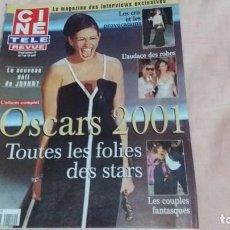 Cine: CINE-REVUE-5 ABRIL 2001-Nº14(OSCARS 2001,DAVE,JENNIFER JONES,BRUCE WILLIS,D.SARGUE,ETC)VOIR PHOTOS. Lote 255468450