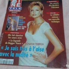 Cine: CINE-REVUE-19 ABRIL 2001-Nº16(CHARLIZE THERON,DANIEL DUCRUET,SIMONE SIMON,S.CONNERY ,ETC)VOIR PHOTOS. Lote 255468620