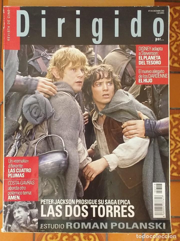 DIRIGIDO POR 318. DICIEMBRE 2002. (Cine - Revistas - Dirigido por)