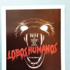 Cine: LOBOS HUMANOS ALBERT FINNEY IMPRESO EN LOS AÑOS 80. Lote 255630705