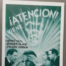 Cine: EL LOBO HUMANO HENRY HULL IMPRESO EN LOS AÑOS 80. Lote 255631305
