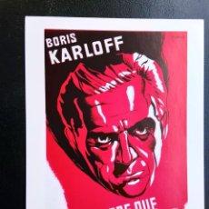 Cine: EL HOMBRE QUE TROCÓ SU MENTE BORIS KARLOFF IMPRESO EN LOS AÑOS 80. Lote 255632270
