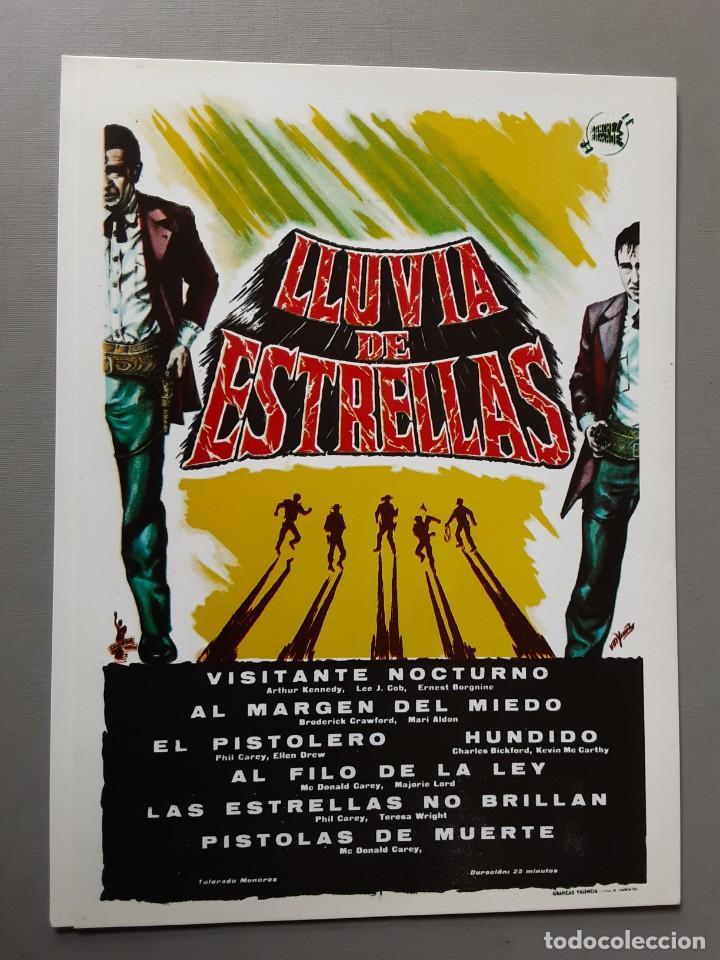 LLUVIA DE ESTRELLAS ARTHUR KENNEDY IMPRESO EN LOS AÑOS 80 (Cine - Reproducciones de carteles, folletos...)