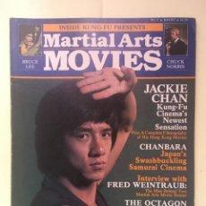 Cine: INSIDE KUNG FU MARTIAL ARTS MOVIES - BRUCE LEE, JACKIE CHAN, CHUCK NORRIS. Lote 255966890