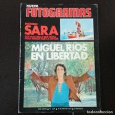 Cine: FOTOGRAMAS 1237 - 30 JUNIO 1972 / MIGUEL RIOS - SARA MONTIEL. Lote 255986510