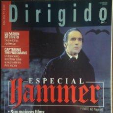 Cine: MAGAZINE DIRIGIDO 333 - CHRISTOFER LEE - DRACULA - HAMMER. Lote 256131070