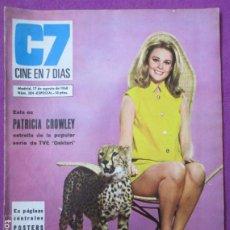 Cine: REVISTA CINE EN 7 DIAS POSTER GIGANTE RAQUEL WELCH AGOSTO 1968 Nº 384 ESPECIAL. Lote 256150550
