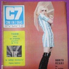Cine: REVISTA CINE EN 7 DIAS POSTER GIGANTE RAPHAEL MARZO 1969 Nº 413 ESPECIAL. Lote 256150840