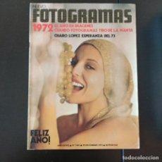 Cine: FOTOGRAMAS 1263 - 29 DICIEMBRE 1972 / AÑO EN IMAGENES - CHARO LOPEZ. Lote 257271230