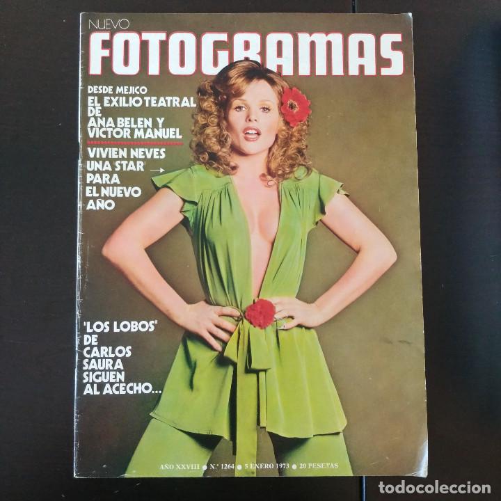 FOTOGRAMAS 1264 - 5 ENERO 1973 / ANA BELEN - VICTOR MANUEL - VIVIEN NEVES - CARLOS SAURA (Cine - Revistas - Fotogramas)