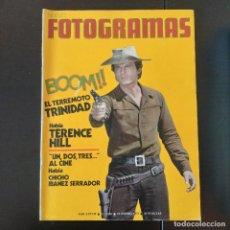 Cine: FOTOGRAMAS 1266 - 19 ENERO 1973 / TERENCE HILL - CHICHO IBAÑEZ SERRADOR. Lote 257277970